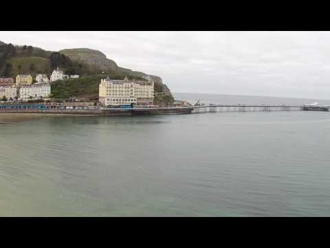 Llandudno Beach and Seafront then Great Orme North Wales