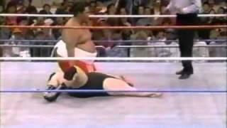 Yokozuna vs Shane Croft
