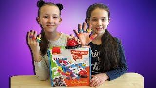 Челлендж Игра Пальцы Вверх! Обзор Игры от BONDIBON Играем с детьми!