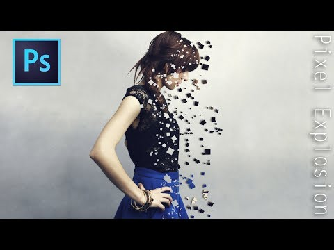 Pixel Explosion Effect | Photoshop Tutorial