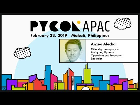 Pycon APAC 2019 - Argeo Tuble Alecha - Data Science And Machine Learning With Python