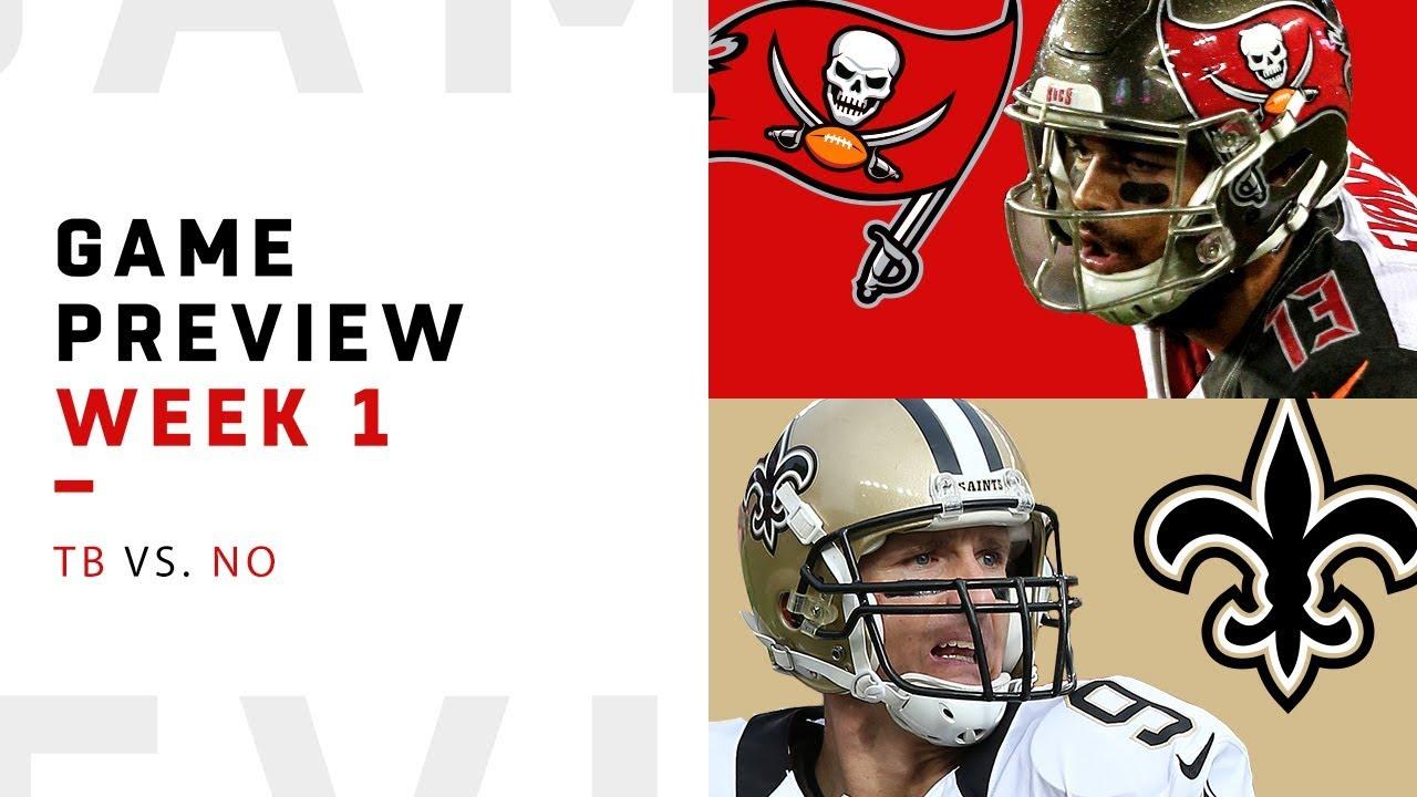 Tampa Bay Buccaneers vs. New Orleans Saints | Week 1 Game ...