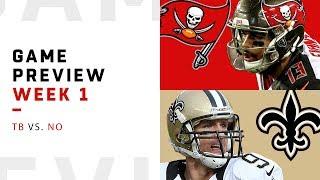 Tampa Bay Buccaneers vs. New Orleans Saints | Week 1 Game Preview | NFL Playbook