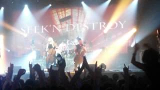 Apocalyptica - Seek and Destroy(Metallica cover) (01.12.15, Kyiv)