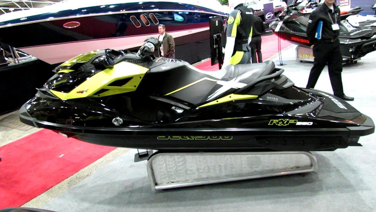 Sea Doo Rxp X 260 >> 2013 Sea-Doo RXP-X 260 Ultra Performance Jet Ski - Walkaround - 2013 Montreal Boat Show - YouTube