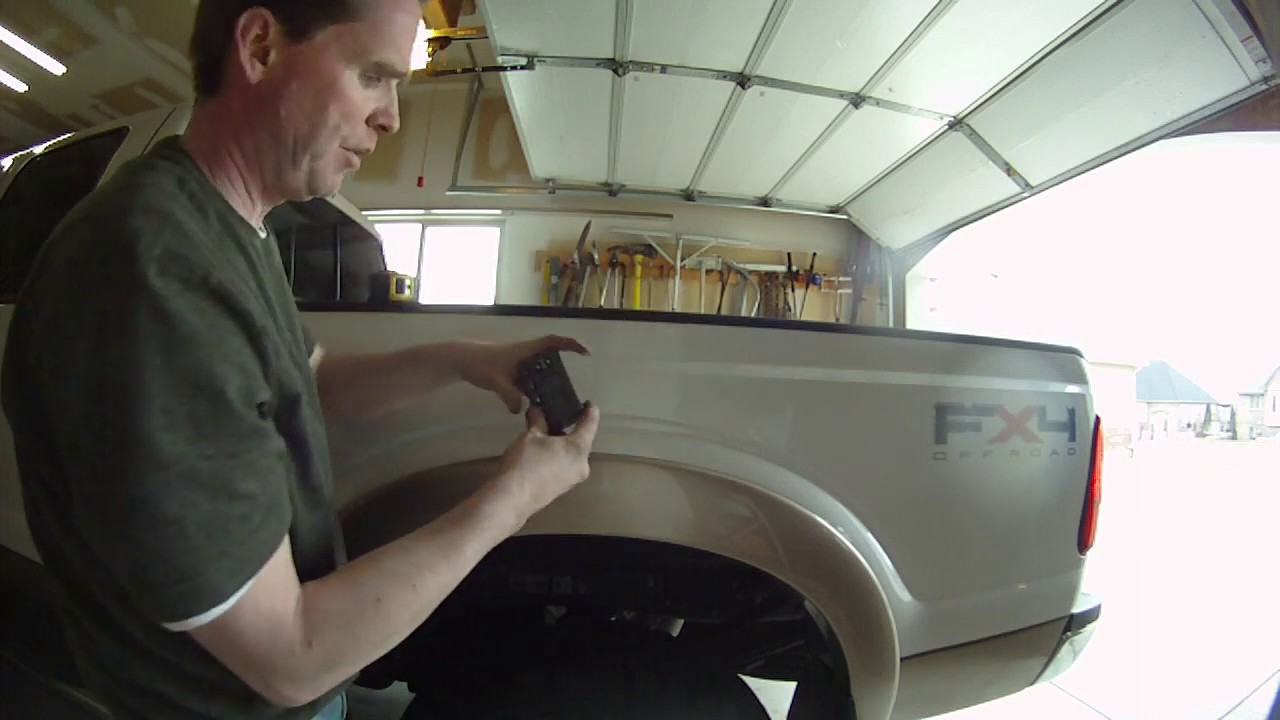 2011 Ford Super Duty Airbags Installation YouTube