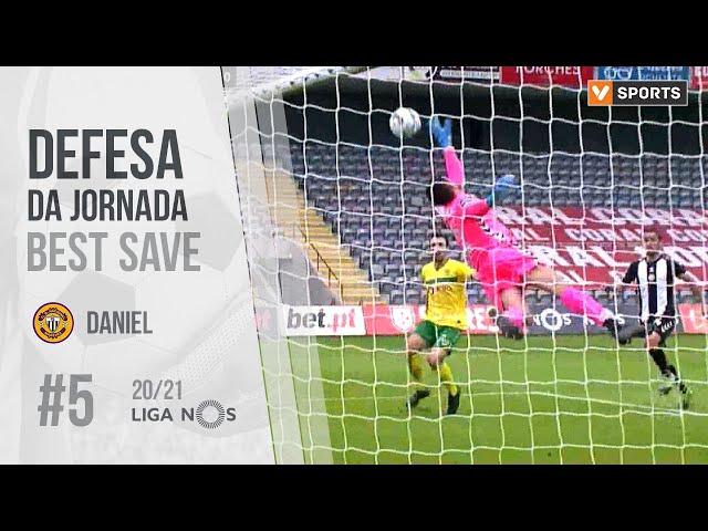 Defesa da Jornada (Liga 20/21 #5): Daniel (Nacional)