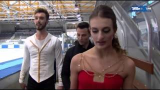 Gabrielle PAPADAKIS/Guillaume CIZERON - Championnat de France 2015 - SD