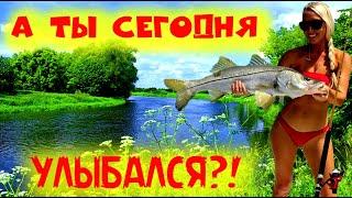 Клёвая рыбалка 2021Смешные случаи на рыбалкеПриколы на рыбалкеДевушки на рыбалкеЯ ржал до слёз