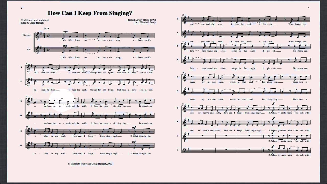 learn how to sight read singing