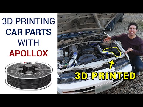 3D printing functional car parts with ApolloX