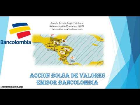 Acciones Bancolombia   Bolsa de Valores de Colombia