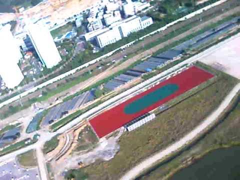 Skyview of River Nakdong in Pusan