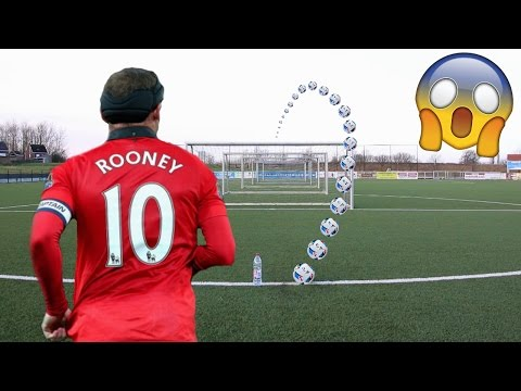 WAYNE ROONEY SHOOTING CHALLENGE IN REAL LIFE FOOTBALL!!!