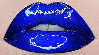 Lipstick Tutorial Compilation 2021💋✨Best Lip Makeup -Part#107