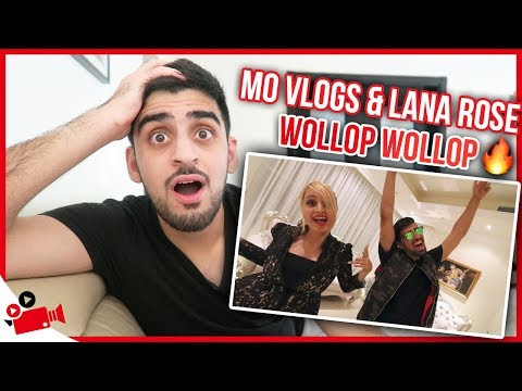 Mo Vlogs & Lana Rose - Wollop Wollop (Official Music Video) (REACTION)