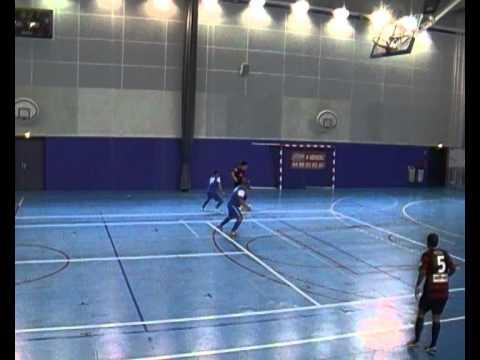 Futsal Toulon Tous Ensemble Kremlin Bicêtre Palais des Sports Match 1ère mi-Temps Live 2011