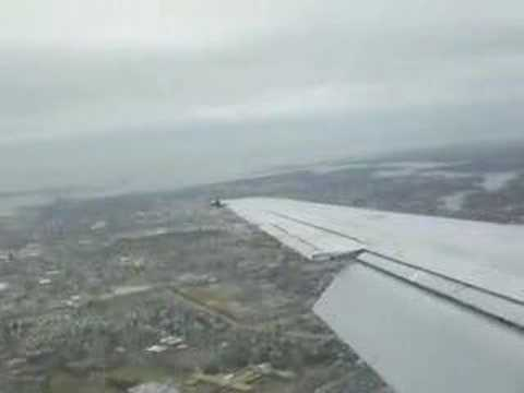 Landing in Norfolk,Virginia