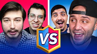 Youtuberler İle 2vs2 Clash Royale
