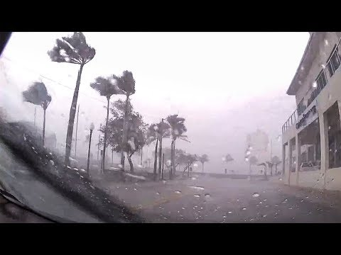 Storm chaser heads to Hurricane Florence