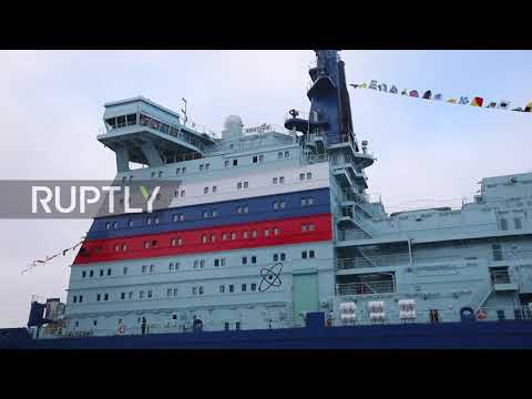 Russia: World's largest nuclear-powered icebreaker officially enters full operation in Murmansk
