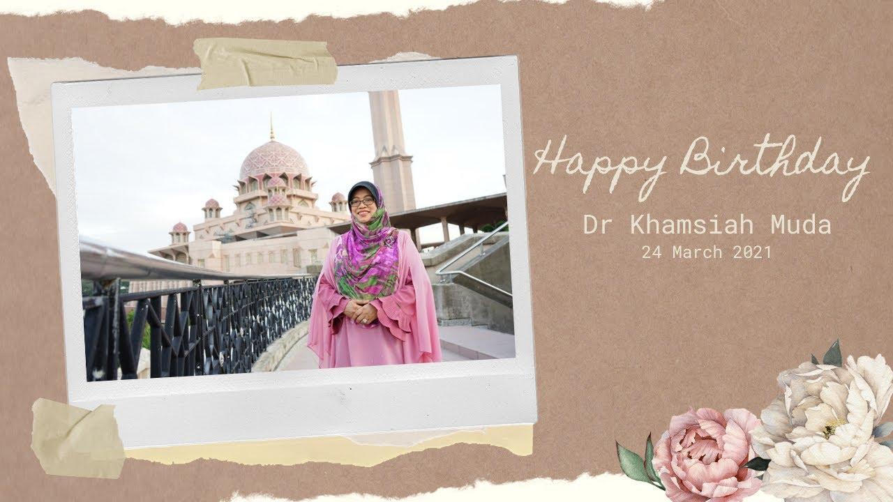 Dr Khamsiah Muda: The Figure That Inspires Us All