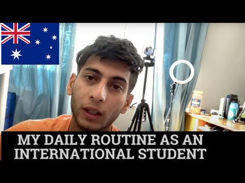 DAILY ROUTINE | STUDENT LIFE IN AUSTRALIA