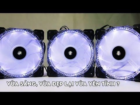 Fan LED RGB Corsair HD120 - VỪA SÁNG, VỪA ĐẸP LẠI VỪA YÊN TĨNH !
