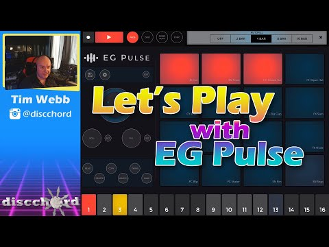 Let's Play with EG Pulse - AUv3 Drum Machine