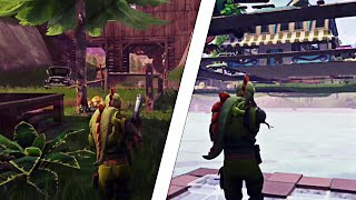 [GLITCH] PASSER IN THE MAP OF FORTNITE WITH A CADDIE - FORTNITE GLITCH 2018