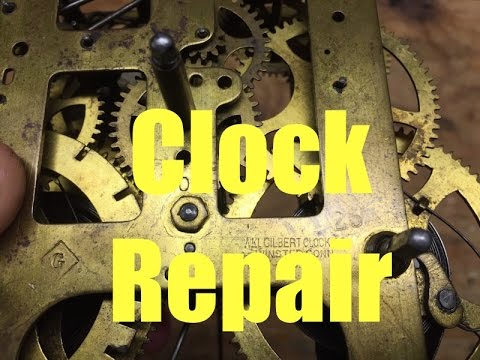 $1907 Antique Clock Repair