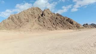 Красивая пустыня в шарм Эль шейх صحراء في شرم