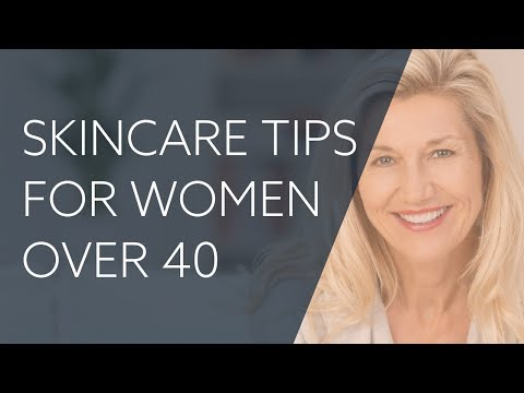 Top Skincare Tips for Women over 40