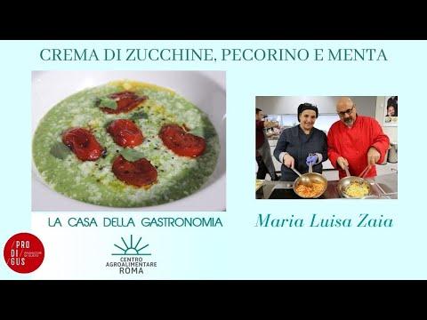 Crema di zucchine romanesche