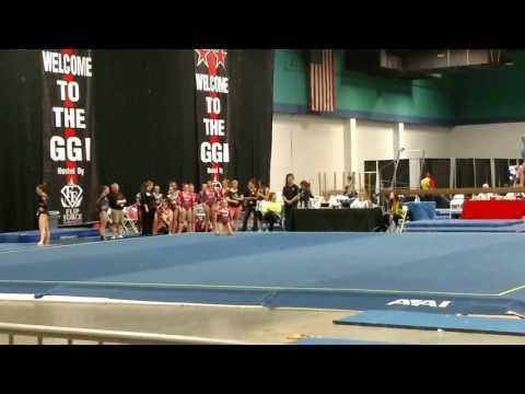 Addison Edwards - Floor 2017 GGI, Greensboro NC-  Hart Gymnastics King, NC Score 8.600