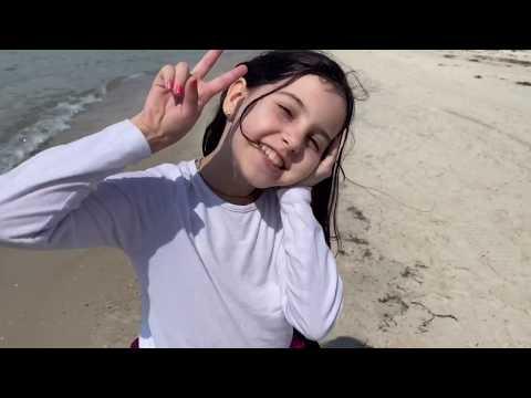 День рождения Дианы на море в Лазурном // Море 2020 //Праздник на карантине