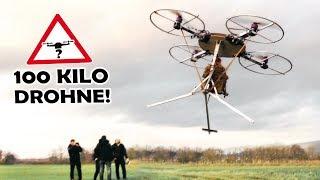 Unsere RIESIGE DROHNE hebt endlich ab! | Menschliche Drohne #3