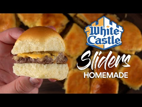 Guga Foods Made A WHITE CASTLE Slider!