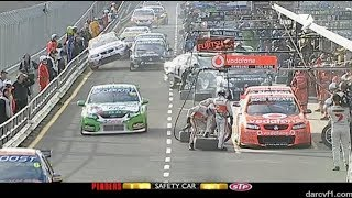 Supercars - Pit Incidents