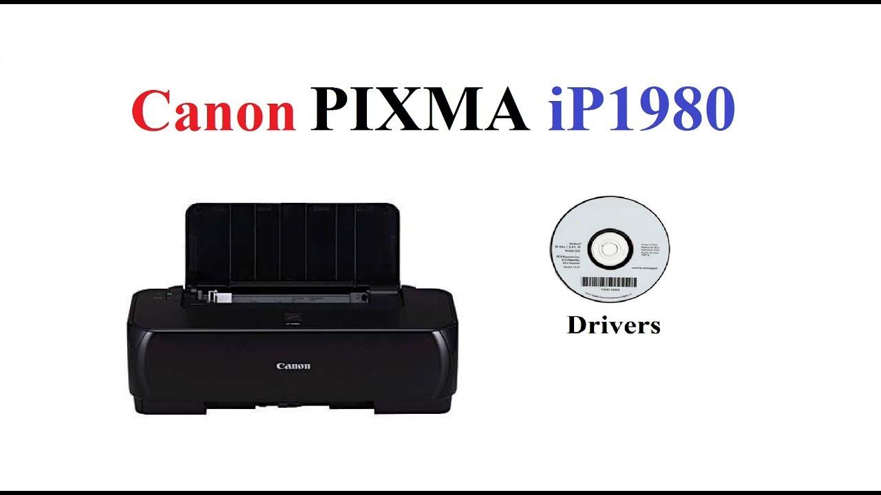 Pixma Ip1980 Driver Youtube