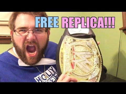 FREE WWE REPLICA BELT!! Wrestling Figures, Toys, INJURY UPDATE FAN MAIL!!