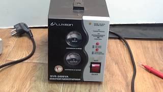 видео Релейный стабилизатор сетевого напряжения