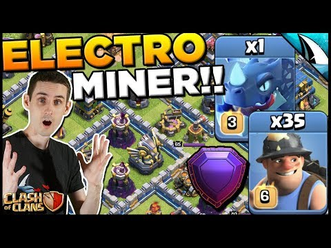 Electro Miner Attack Strategy At TH 12 - I Can't Believe I Used Miners!!! | Clash Of Clans