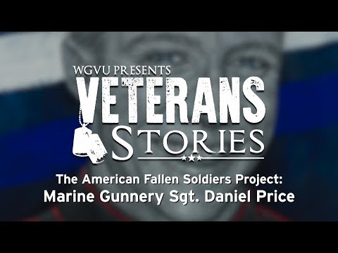 The American Fallen Soldiers Project: Marine Gunnery Sgt. Daniel Price