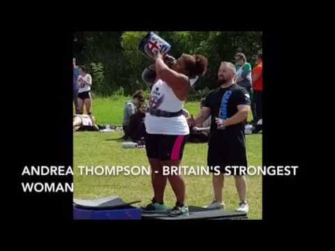 Andrea Thompson  Britain's Strongest Woman