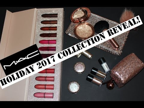 MAC SNOW BALL HOLIDAY 2017 COLLECTION | FIRST LOOK & SWATCHES