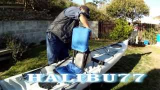 DIY HIGH BACK SUPPORT FOR KAYAK FISHING