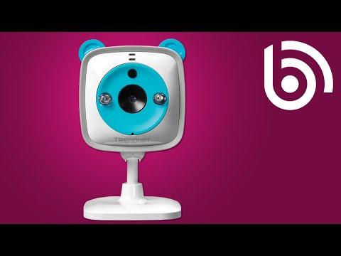 TRENDnet TV-IP745SIC WiFi IP Baby Camera Introduction