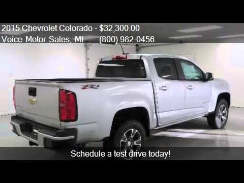 2015 chevrolet colorado z71 4x4 crew cab short box for for Voice motors kalkaska michigan
