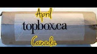 April Topbox Canada Thumbnail